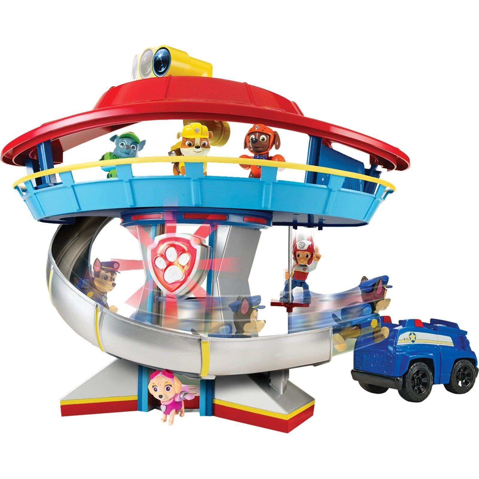 Spin Master - Paw Patrol - Spiel Set Hauptquartier   Playset mit Spielfigur