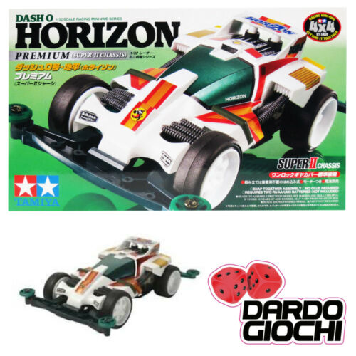 MINI 4WD DASH 0 HORIZON PREMIUM (SUPER II CHASSIS) ITEM 18073
