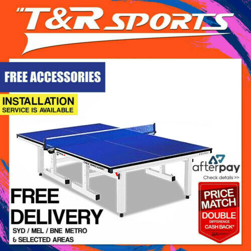 Primo Indoor Optimal 25MM Table Tennis Ping Pong Table with Free Accessories Package