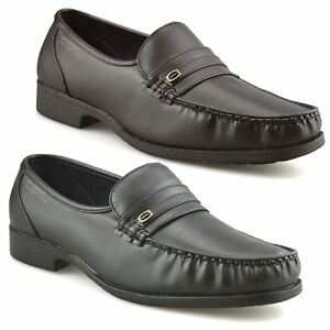 Mens-New-Slip-On-Casual-Smart-Memory-Foam-Mocassin-Designer-Loafers-Shoes-Size