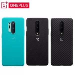 Original-Official-For-OnePlus-8-8-Pro-Case-Karbon-Bumper-Sandstone-Nylon-Back