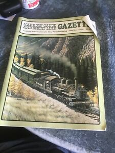 Magazine-Narrow-Gauge-and-Short-Line-Gazette-Nov-Dec-1986-Logging-Lumber