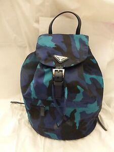 de073c1e0490 Image is loading NWT-Prada-Vela-Tessuto-Camouflage-Nylon-Medium-Backpack-