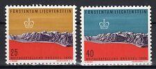 Liechtenstein - 1958 Expo Brussels - Mi. 369-70 MNH
