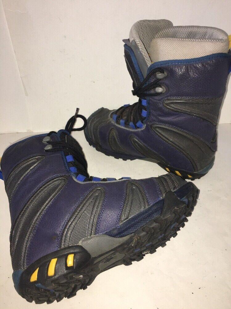Vans Jamie Lynn Pro Model Snowboard Boots Mens Sz 8 26.0 40.5 EU blueee