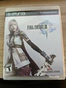 Final Fantasy XIII FF13 13 (Sony PlayStation 3, PS3) Complete