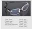 Flexible-Rimless-Titanium-Alloy-Eyeglasses-Women-Men-Glasses-Frame-Optic-Eyewear miniature 7