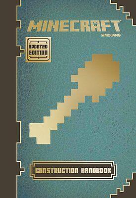 Minecraft: Construction Handbook by Matthew Needler (Hardcover) BRAND NEW