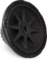 Kicker 43cvr124 400w Rms 12 Compvr Dual 4 Ohm Car Subwoofer Car Audio Sub