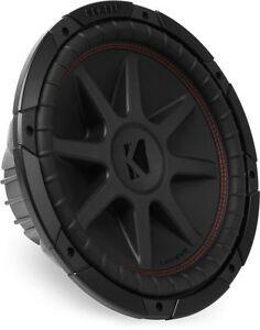 Kicker-12-034-800-Watt-CompVR-4-Ohm-Sub-Woofer-Car-Audio-Power-Subwoofer-43CVR124