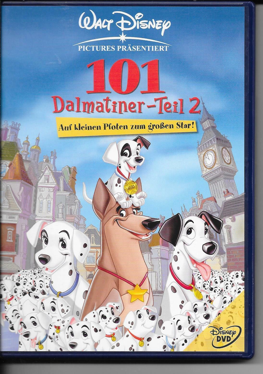 101 Dalmatiner Teil 2 Auf Kleinen Pfoten Zum Grossen Star Gunstig Kaufen Ebay