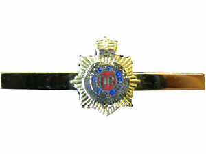 Royal Corps of Signals Regimental Military Tie Clip Slide