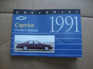 chevrolet caprice owners manual 1991 today manual guide trends rh brookejasmine co 1994 Chevy Impala Wagon 1994 Chevy Caprice Seats