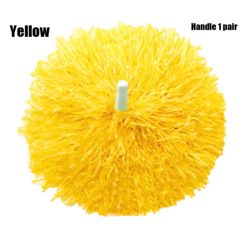 Double Hole Handle Cheerleader pompoms Cheering Ball Club Sport Supplies UK