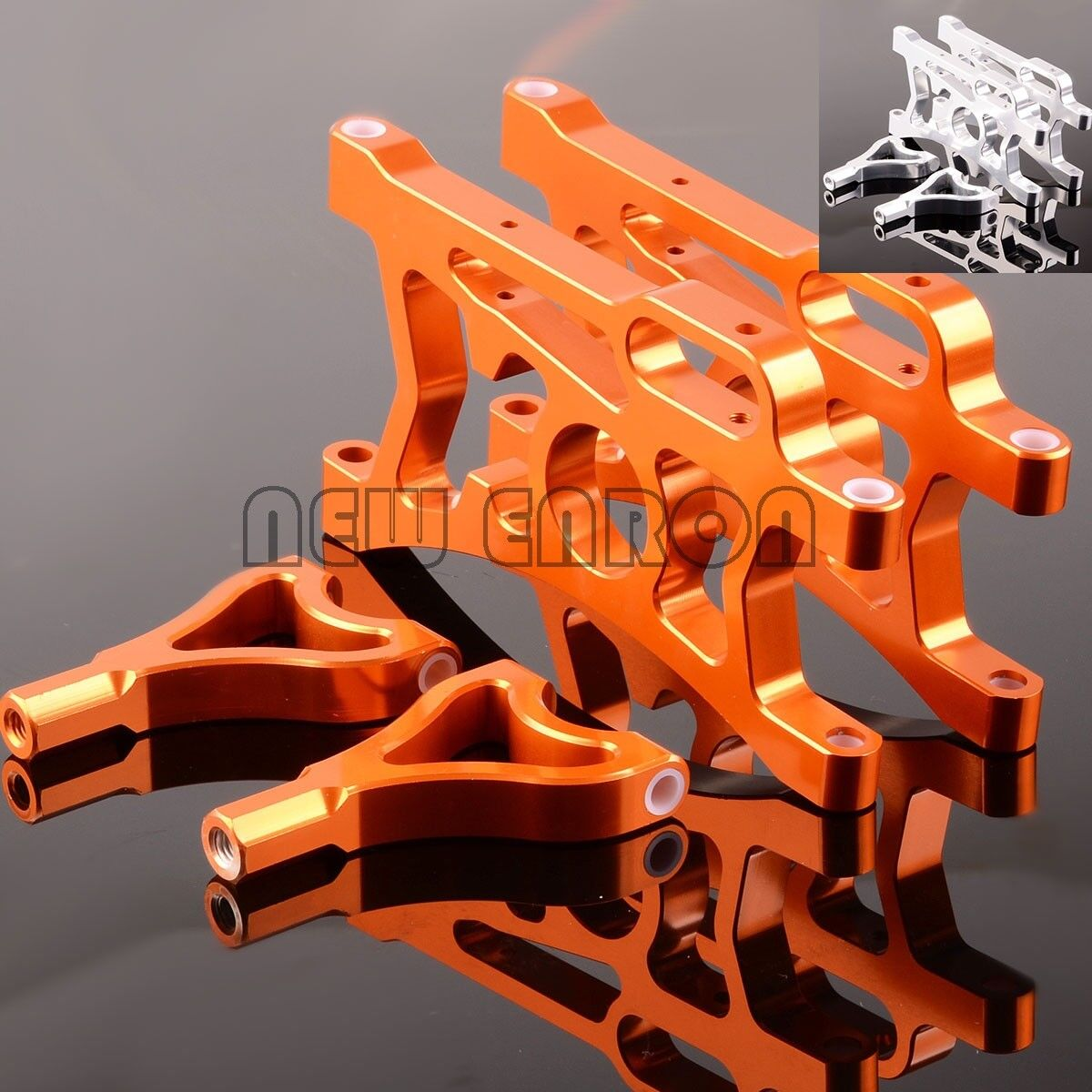 REAR SUSPENSION ARM SET Aluminum FOR RC 1:5 HPI Baja 5B SS Rovan KING MOTOR