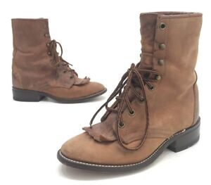 Laredo Boots Womens Distressed Brown