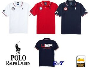 olympic-official-USA-team-t-shirt-white-blue-red-100-cotton