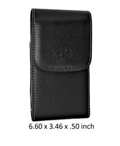 PU-Leather-Vertical-Belt-Clip-Case-Holster-For-Cell-Phones-6-60x3-46x-50-inch