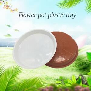 Pot-de-plante-en-plastique-solide-rond-Base-de-soucoupe-Bac-d-039-egouttement-d-039-ea