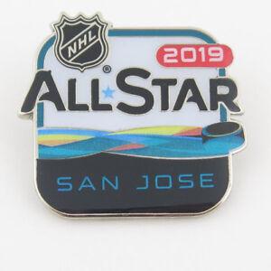 2019 NHL All Star Game Hockey Pin January 25th-26th 2019 SAP Center ... 696b746f4