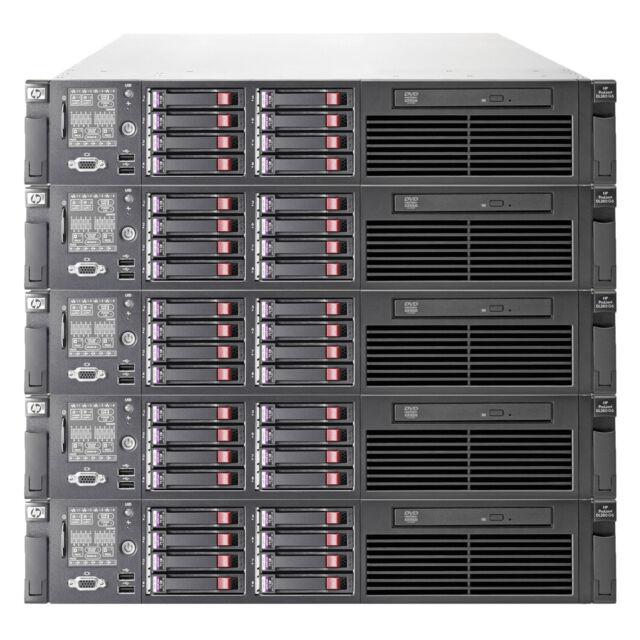 HP PROLIANT DL380 G7 12 CORE SERVER 2X 2.67GHz  X5650 128GB RAM 8x 600gb SAS HDD