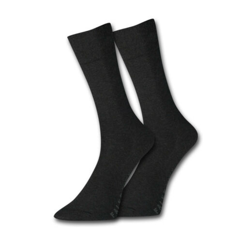 2 paire FALKE Chaussettes Hommes swing 43-46 Anthracite