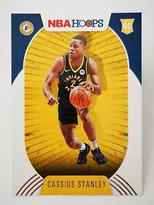 Panini Hoops 2020-21 N21 card NBA #215 Cassius Stanley RC Rookie Indiana Pacers