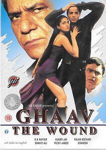 ghaav-KUMAR-Jay-RAJAN-kothari-Nuevo-Original-Bollywood-DVD