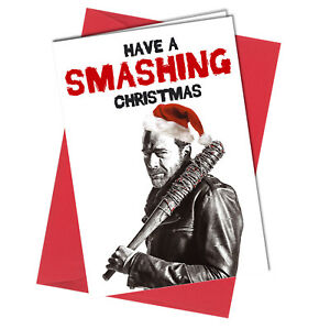 418 christmas card rude greeting card funny humour joke negan image is loading 418 christmas card rude greeting card funny humour m4hsunfo
