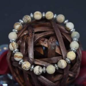 Supreme-Healer-Jasper-Stone-Handmade-Bracelet-Beaded-Healing-Chakra-Reiki