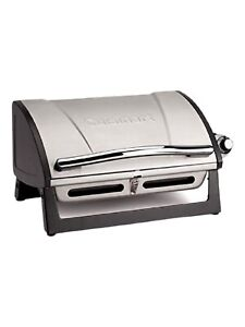 ✅Outdoor Tabletop Stainless Steel Propane Gas Grill Portable Burner BBQ Party