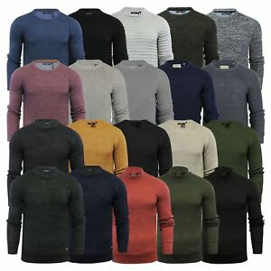 Mens-Jumper-Brave-Soul-Knitted-Sweater-In-Various-Styles