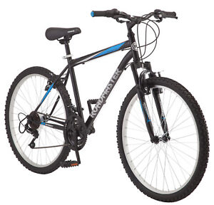 945e2e06f2c Details about Roadmaster Mountain Bike 18 Speed Mens Black Cycle Cycling  Twist Shifters Trail