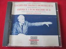 BEETHOVEN / MENUHIN SINFONIA - FURTWANGLER- FONIT CETRA ITALY (CD 1987 USA) RARE
