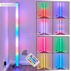 LED Farbwechsler Design Steh Stand Lampe Fernbedienung Wohn Schlaf Raum Leuchte