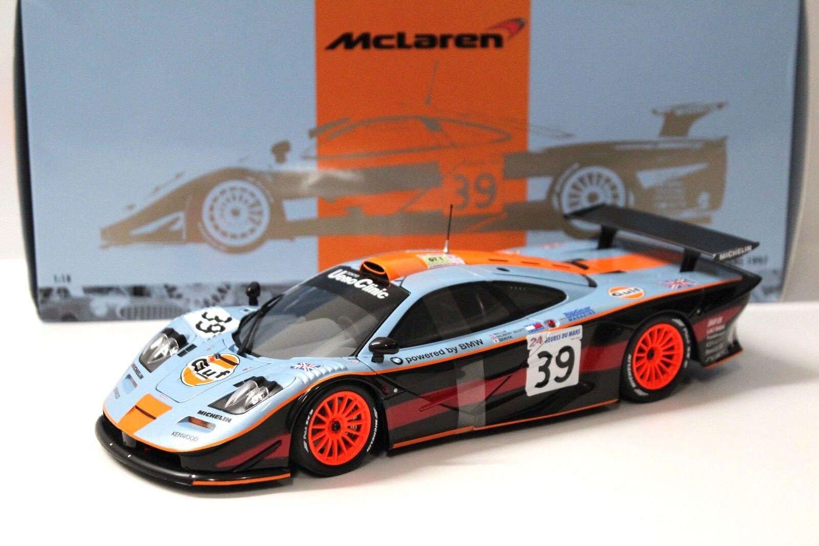 1 18 Minichamps McLaren F1 GTR Long Tail LM Gulf NY bei PREMIUM -modelllllerKARS