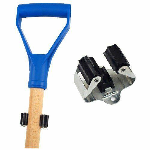 Gartengerätehalter Besenhalter Bootshakenhalter Aufhängehaken Stielhalter Clip