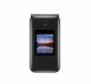 ZTE CYMBAL 2 4GB Black Unlocked Z2335CA Flip Phone