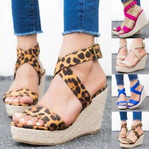 Shoes Fisch Damen High Sommer Keil Kreuz Gebunden Sandalen Heels Mund Details Zu iukOPXZ
