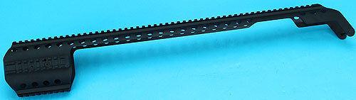 G&P escopeta Cocheril de cuerpo de metal para G&P M870 (versión pesada, Negro) - GP-SHP014-BK