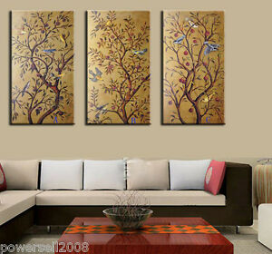1-2M-Chinese-Fashion-Abstract-Art-Handmade-Frameless-Canvas-Mural-Painting-Set