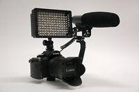 Pro Vm Xl-2l Hd Slr Video Mic Light For Fujifilm Finepix Hs50exr X20 X100s X-e1
