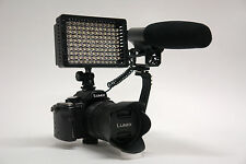 Pro VM XL-2L EOS DSLR directional stereo video mic light for Canon 77D T7i M6