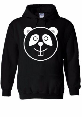 Bear Panda Face Cartoon Cute Head Hoodie Sweatshirt Jumper Men Women Unisex 1027