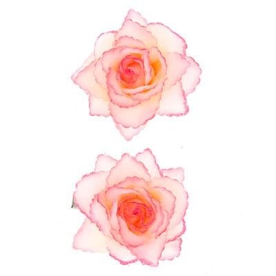 Claire's Clip Per Capelli Fiore Glitter - 2 Confezione Rosa-mostra Il Titolo Originale Ufficiale 2019