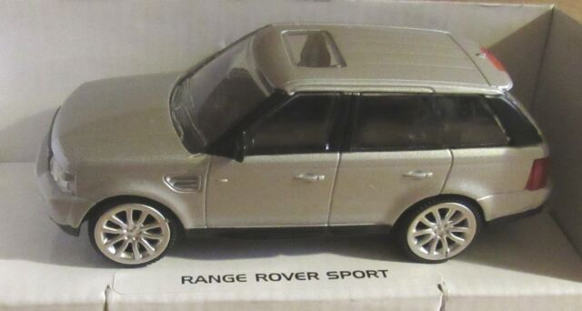 RASTAR RANGE ROVER SPORT SILVER 1:43 SCALE DIECAST MODEL CAR LAND ROVER TOY