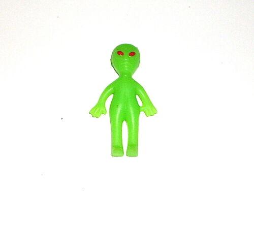 1 Alien Glow in the Dark Alien Figure Miniature Toy FREE SHIPPING