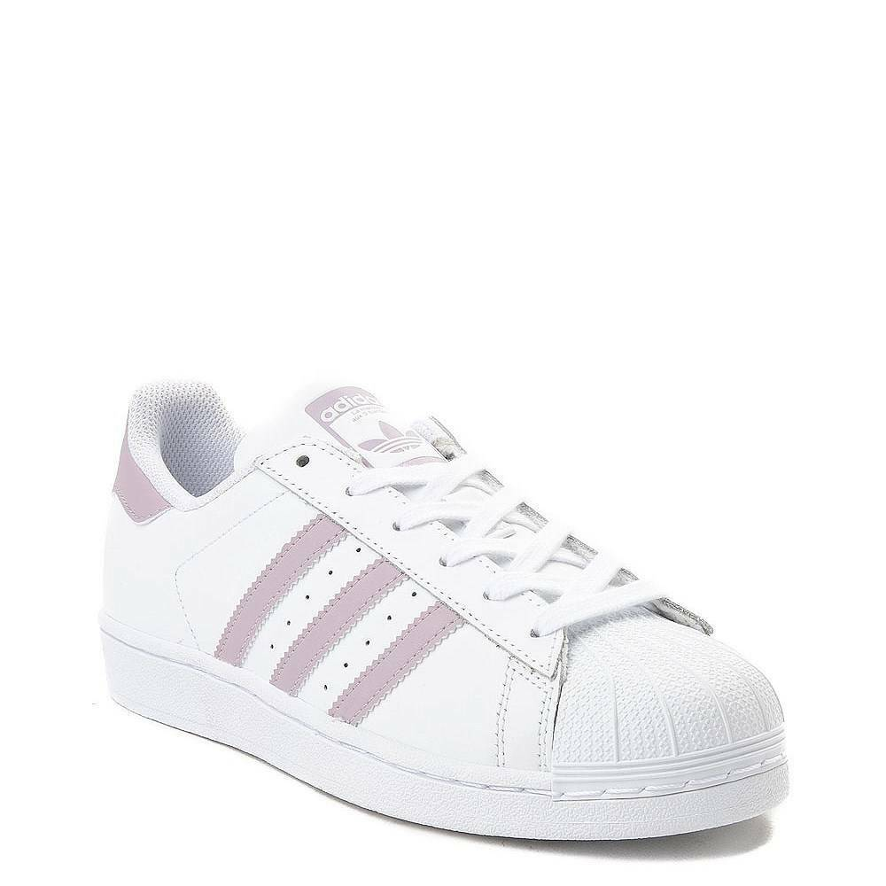 New adidas Superstar shoes White Mauve WOMENS Classics Originals