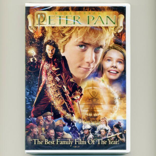 Peter Pan 2003 PG family fantasy movie, new DVD Jeremy Sumpter, Jason Isaacs