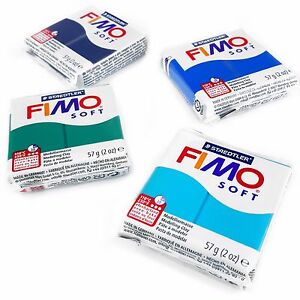 FIMO-Soft-Polymer-Oven-Modelling-Clay-57g-Set-of-4-Ocean-Colours